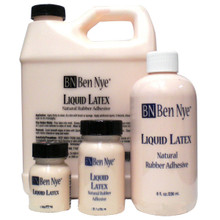 Liquid Latex Ben Nye 16 oz and 32 oz bottles