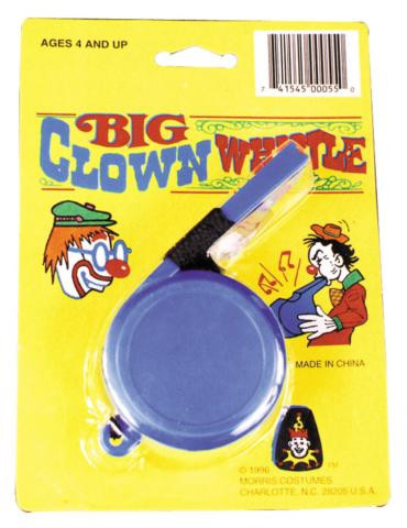 CLOWN WHISTLE JUMBO