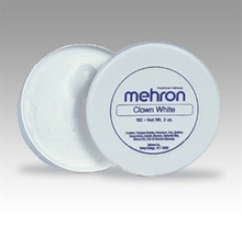 Clown White Makeup 2Oz.-Mehron