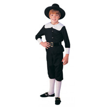 Pilgrim Boy Deluxe Child Costume
