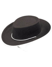 Black Felt Child Cowboy Hat