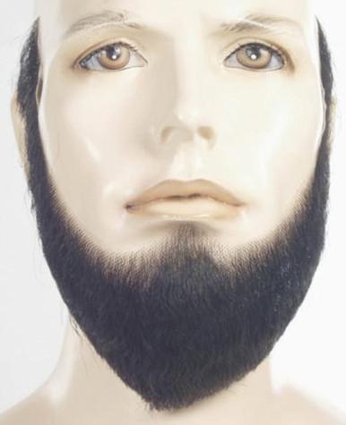 BEARD FULL BLACK HUMAN HAIR