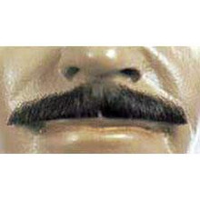 MOUSTACHE MONSIEUR HUMAN HAIR