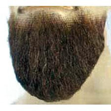 SHEIK BEARD BROWN HUMAN HAIR