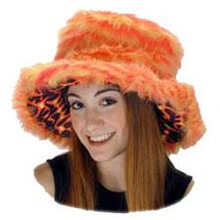 FURROCIOUS FUR HAT ORANGE