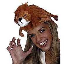 LION ANIMAL HAT