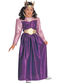 Queen Costume Child Purple