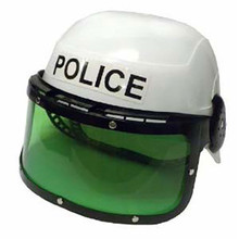 Police Helmet Child Plastic