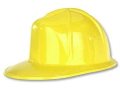 CONSTRUCTION HAT PLASTIC YELLOW
