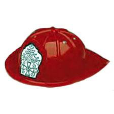 FIRE CHIEF FIREMAN HAT RED