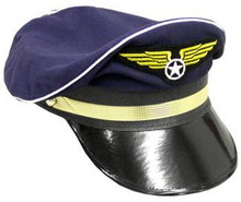 PILOT'S HAT W/WINGS