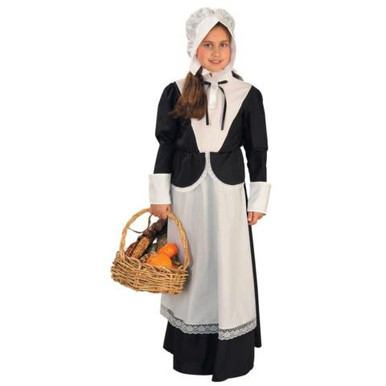 PILGRIM GIRL COSTUME CHILD
