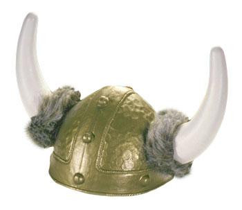 VIKING HELMET W/ FUR