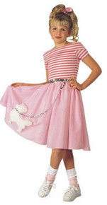 Nifty Fifties Child Costume Small 4-6