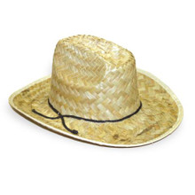 COWBOY HAT STRAW ADULT