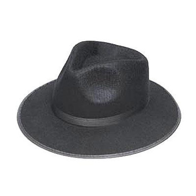 FEDORA / GANSTER HAT BLACK