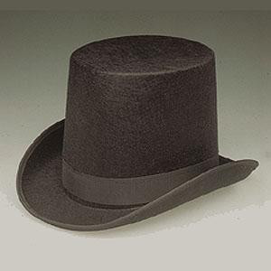 COACHMAN'S TOP HAT BLACK