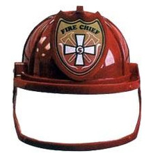 FIREMAN HAT W/VISOR