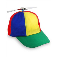 Multi Colored Propellor Cap