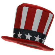 Uncle Sam Mad Hatter Hat (Foam)