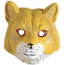 Fox Animal Mask Plastic