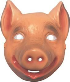 PIG ANIMAL MASK PLASTIC