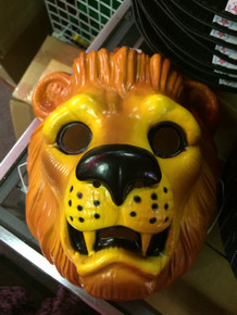Lion Animal Mask Plastic
