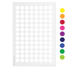 "Cryogenic Color Dots - 0.35"" / 9mm #LT-9"