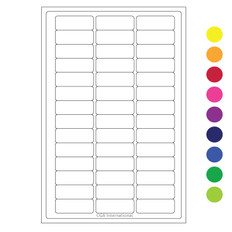 """Cryo Laser Labels - 1.02"""" x 0.4"""" #CLH-1 (Individual Color Pack)"""