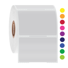 "Animal cage labels 2.125"" x 1.375"" / 54mm x 35mm colors 500/roll GFT-1NOT"