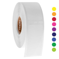 """Direct Thermal Paper Labels - 1"""" x 2.125"""" #EDY-010"""