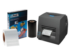 Citizen CL-S631 Printing Kit (Ethernet)- Professional version #PKC-T-33