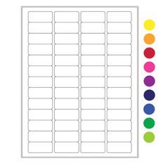 "Laser & Inkjet Matte Paper Labels - 1.77"" x 0.79""  #LZP-8"