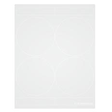 """Cryo laser labels - 4"""" circle  #CL-31"""
