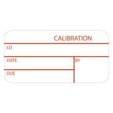 "Self-Laminating Calibration Labels - 0.75"" x 1.5""  #CALA-001-1P"