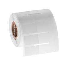"Wrap-Around Labels for Frozen Vials - 1"" x 0.625"" + 1.375"" wrap  #FIX-312NOT"