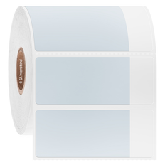 """Cryo Cover-Up Label for Frozen Vials - 2"""" x 1"""" + 0.5"""" wrap  #AEA-3"""