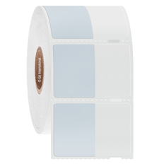 """Cryo Cover-Up Label for Frozen Vials - 0.875"""" x 1.125"""" + 0.75"""" wrap  #AEA-5 Notch"""