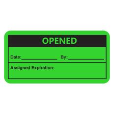 "Self-Laminating Calibration Labels - 1"" x 2"" - OPENED - #CAL-007-1R"