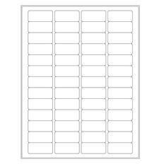 "Laser Glossy Paper Labels - 1.77"" x 0.79"" #LGP-8"
