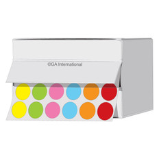 """Cryogenic multi-color dots 0.5"""" / 13mm  #JTR-13X6A"""