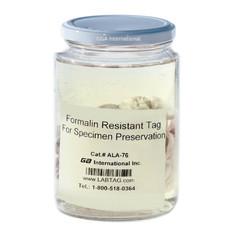 "Non-Adhesive Formalin Resistant Tag - 3"" x 125' / 76mm x 38m  #ALA-76C1-125"