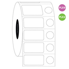"Cryo Inkjet Labels - 1"" x 0.5"" + 0.375"" #ADA-183"