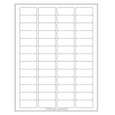 """Cryo Inkjet Labels - Sheet Format - 1.77"""" x 0.79"""" #AJA-8"""