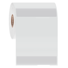 "Thermal Transfer Wrap-Around Cryo Labels - 3"" x 0.625"" + 2.825"" (portrait) #HBTT-324NOT"