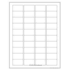 """Cryo Inkjet Labels - Sheet Format- 1.75"""" x 1"""" #AJA-79"""