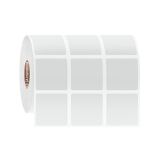 "Cryogenic Direct Thermal Labels - 1.125"" x 1.125""   #DFP-257"