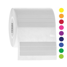 """Cryo Dymo Compatible Labels for Plates - 2"""" x 0.25""""  #ED1F/EF1F-075"""