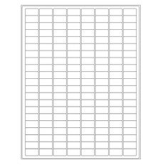 "Autoclave Labels for Laboratory Glass Wear - 0.94"" x 0.5""  #AKA-12"