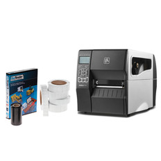 Zebra ZT230 Printing Kit With Peel Option - #PKT-ZT2P-33